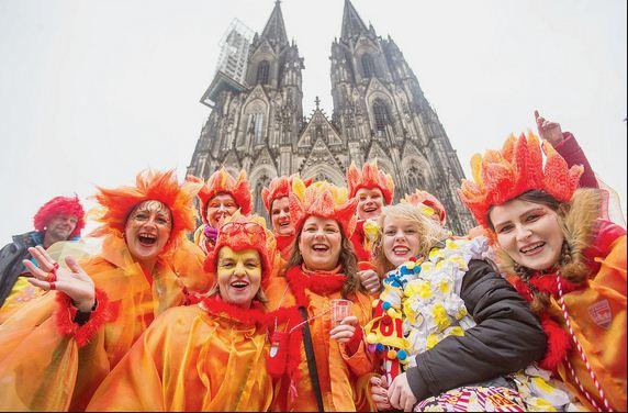 Carnaval Femme Cologne