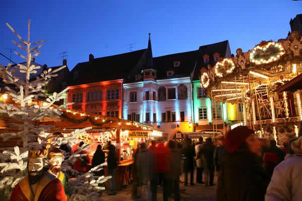 France - Mulhouse - marché de Noël