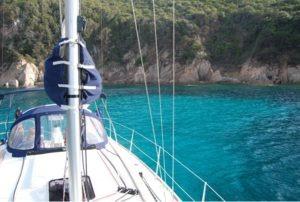 Bateau en Corse