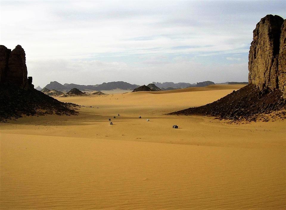 Désert de Sahara en Algerie