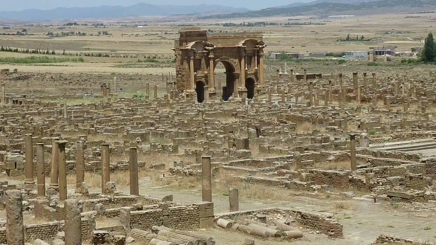 Timgad Algerie