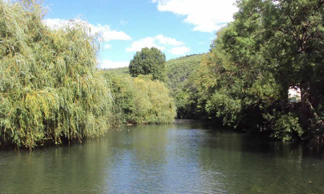 rivière Cessea Minervois