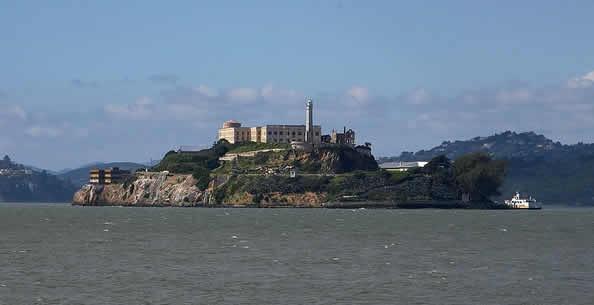 prison d'Alcatraz san Francisco