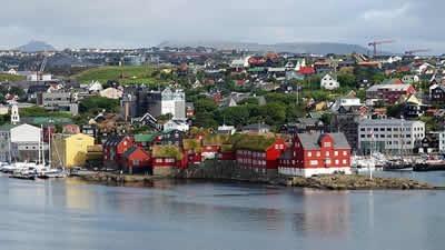 Tórshavn, îles Féroé