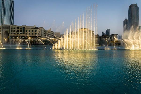 fontainte Dubaï