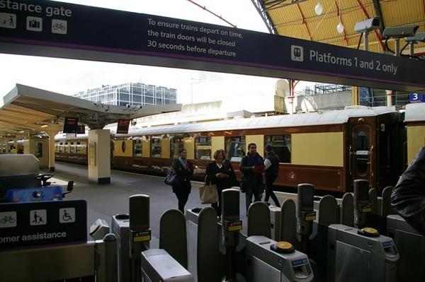 départ Orient Express