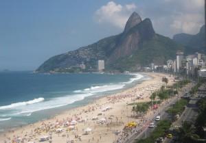 Plage Ipanema à Rio de Janeiro