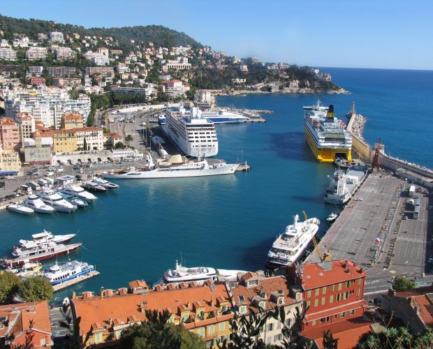Croisières au départ de Nice