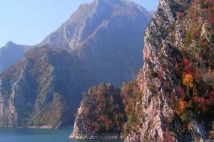 Les montagnes d'Albanie